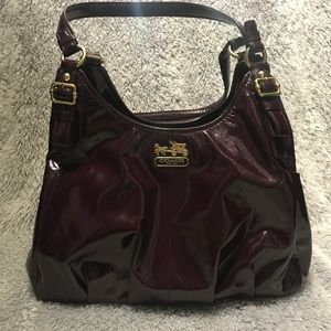 COACH Maddison Patent Purse